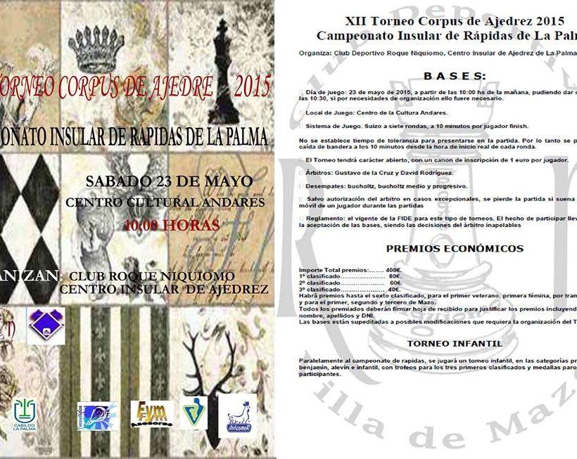 corpus de mazo 2015