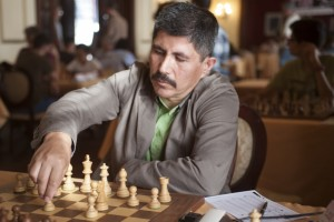 GM Julio Granda durante torneo ajedrez bajada. Fotografo Juancho Garcia-2