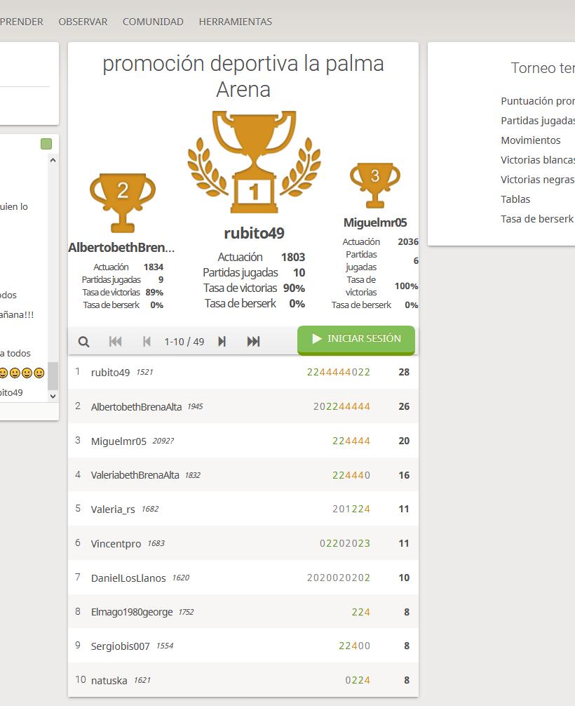 Screenshot_2020-03-29 promoción deportiva la palma Arena Standard 5+0 rated #4QQw1Sgg